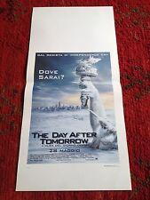The Day After Tomorrow L'alba Del Giorno Dopo locandina poster Dennis Quaid