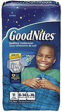 GoodNites Boy's Bedtime Underwear, Jumbo Pack, Large/Extra Large 11 ea (2 pack)