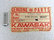 Kawasaki NOS NEW  53011-001 Pivot Pin Dual Seat H1 A1 A7 F3 F4 F5 F6 F7 1966-87