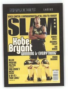 KOBE BRYANT 2020 21 PANINI NBA HOOPS SLAM MAGAZINE LOS ANGELES LAKERS