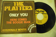 """THE PLATTERS""""ONLY YOU(DISCO VERSION)-disco 45 giri DERBY Italy 1977"""""""