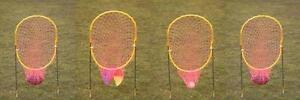 Xtra Receiver Disc Golf Lacrosse Plastic Ball 4 Net Set