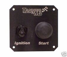 Tanner Racing Switch Panel w/Starter Button & Magneto
