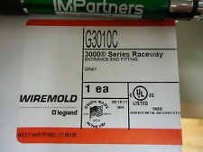 Wiremold G3010C 3000 Raceway Entrance End Fitting. Brand New!