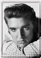 Elvis Presley Porträt Blech Scudo 10x14 Cm Blech Mappa 10127 Firmare