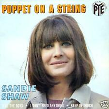 SANDIE SHAW Puppet On A String FR Press EP