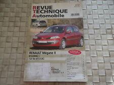 Revue Technique RENAULT MEGANE 2 - 1.4i 16v et 1.5 DCi depuis 01/2006