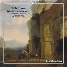 Telemann: Wind Concertos, Vol. 1, New Music