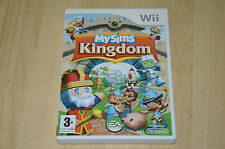 jeu Nintendo Wii : My sims Kingdom - VF complet