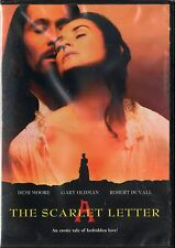 The Scarlet Letter (DVD, 2002) Demi Moore, Gary Oldman  RATED R