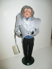 Bryers Choice Carolers 1992 Christmas Waits Victorian Man Doll