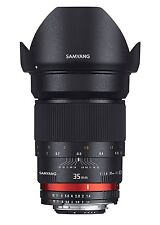 Samyang 35 mm F1.4 Manual Focus Lens for Canon AE