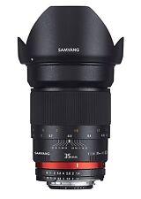Samyang 35 mm F1.4 Manual Focus Lens for Canon AE