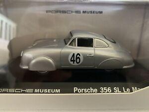 Porsche Museum 356 SL #46 Le Mans 1951 1:43 Welly