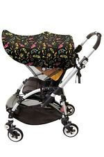Dreambaby Large Strollerbuddy Extenda-Shade, Animal Print L283 Stroller NEW