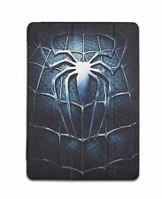 Spider Themed Apple iPad Air 2 Case Smart Cover Transparent Back Cover Auto Slee