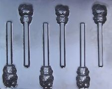 Hello Kitty Small Chocolate Lollipop Candy Mold 380 NEW