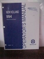 OM New Holland 994 Issue 2/02  (1A)