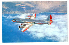 1950s AA American Airlines Issued Jet-Powered ELECTRA  Postcard