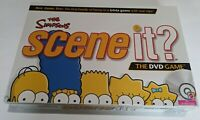 The Simpsons Scene It DVD Game Trivia Mattel Board Game Ages 13 Up