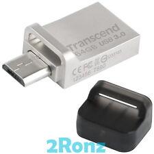TRANSCEND 880S OTG 64GB 64G USB 3.0 Flash Drive Micro JetFlash Android Phone 880