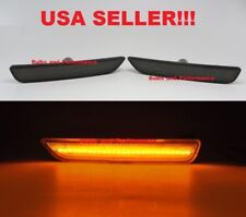 2010 2011 2012 2013 2014 Ford Mustang Smoked Lens Amber LED Front Side Markers