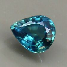 0.78ct.GEM PIECE BLUE SAPPHIRE PEAR SHAPE NATURAL GEMSTONE NORMAL HEATED