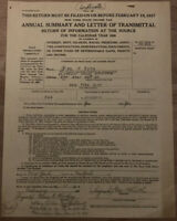 BABE RUTH 1936 New York Tax Return Original Copy 🔥Historical Memorabilia🔥