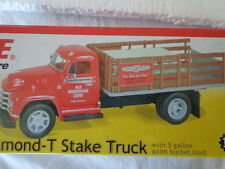 1st GEAR 1955 DIAMOND-T STAKE TRUCK 1/34 SCALE ACE HARDWARE 3rd IN A SERIES