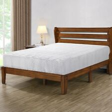 "SLEEPLACE 10"" OM Hybrid Memory Foam Spring Mattress, Bed,"