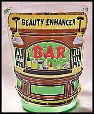 Shot Glass Beauty Enhancer New Barware Cocktail recipe Drink Bartender Saloon