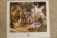 2006 Porsche Cayenne Showroom Advertising Sales Poster Small RARE!! Awesome L@@K