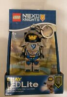 LEGO Toy Keychain - Nexo Knights Action Figure CLAY - Include LEDLite NEW IN PKG