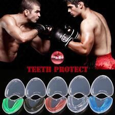 Kids Junior Adult EVA Gum Shield MMA Impact Absorption Boxing Mouth Guard BJJ UK