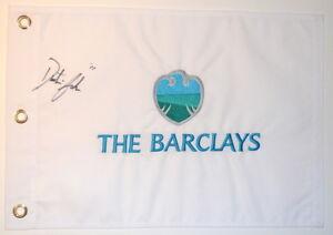 DUSTIN JOHNSON Signed - THE BARCLAYS - Golf Flag