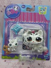 LPS  PETSHOP  tiger cat chat sphynx and baby  bébé 3585 et 3586 blister box