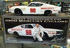 LeeRoy Yarborough #98 1969 mercury Cyclone  AUTOGRAPH Univ of Racing 1:24 Scale