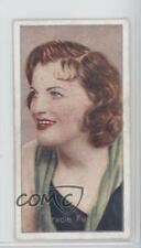 1936 Carreras Film Stars by Desmond Tobacco Base #50 Gracie Fields Card 0a3