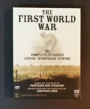 3 DVD Set - The First World War - The Complete TV Series
