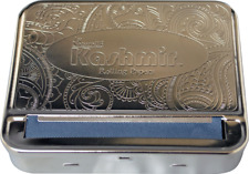 kashmir Automatic Cigarette Metal Tobacco Roller Rolling Machine Box 70mm case