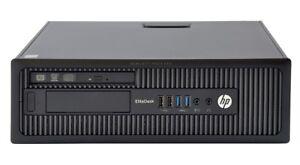 HP Elite 800 G1 SFF Core i3-4130 3.40 GHZ 16GB 512GB SSD  Win 10 Pro