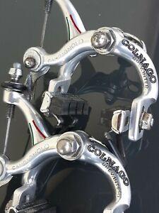 CAMPAGNOLO SUPER RECORD freni COLNAGO ENGRAVED brakes vintage eroica