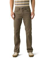 Prana Slim Fit Brion Stretch Slim Pants - Mud - 36 x 34 - New with Partial Tags