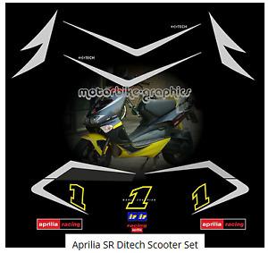 Aprilia SR Ditech Scooter Set   full decal set