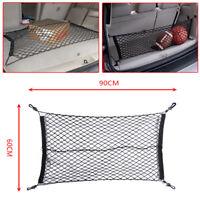 Car SUV Elastic Nylon Rear Cargo Trunk Storage Organizer Flexible Net 60cm*90cm