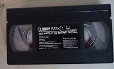 Linkin Park ‎–Frat Party At The Pankake US VHS / CD Hybrid Theory Mexico 2001