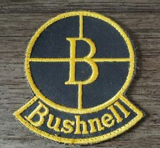 Bushnell Scope Patch Crosshairs Unsewn Black Yellow Nice Hunting Game Target