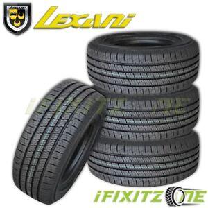 4 Lexani LXHT-206 LT235/80R17 120/117Q Tires, All Season, Truck SUV, 10 Ply / E