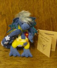 "Deb Canham Artist Designs Delphinium, Dappled Dragon Coll 3.75"" From Retail Shop"