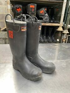 Firefighter 4000 Ex Fire & Rescue Fire Boots Safety Wellies Wellington Boot -...